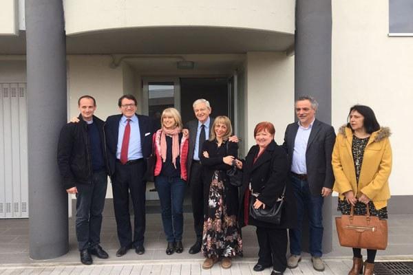 Costi inaugura palazzina Acer a Modena