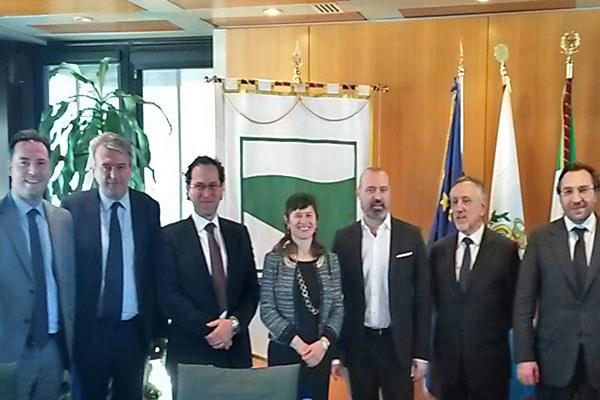 Delegazione Repubblica di San Marino e Giunta