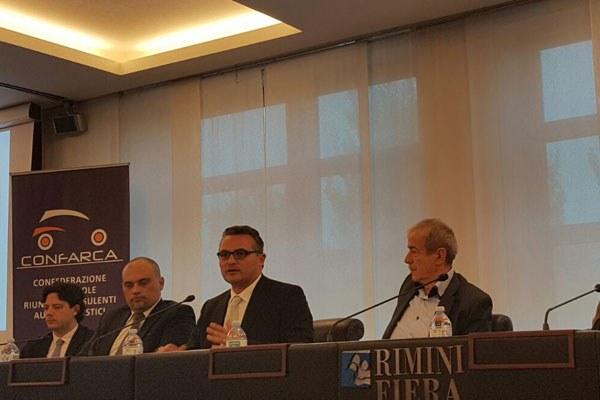 Donini alla presentazione del campo scuola di Rimini