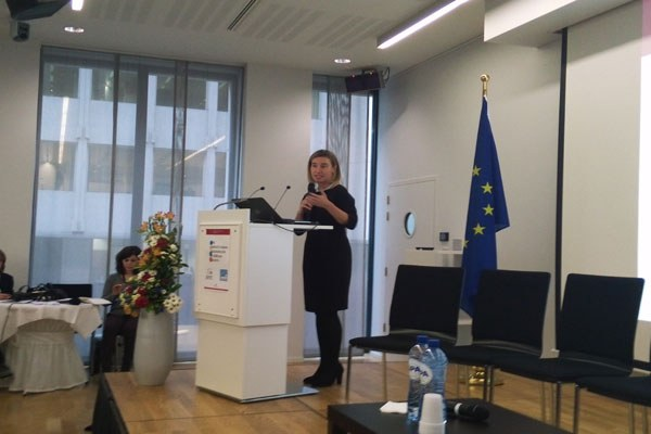 Federica Mogherini a Open days 2015