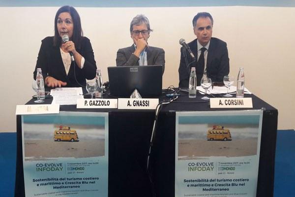 Gazzolo e Corsini a Ecomondo 2017