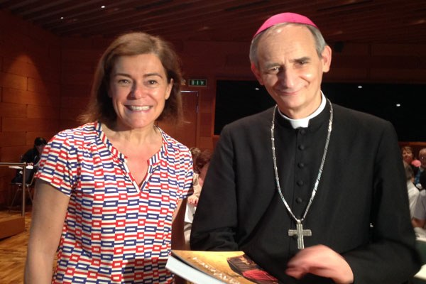 Gualmini e Monsignor Zuppi