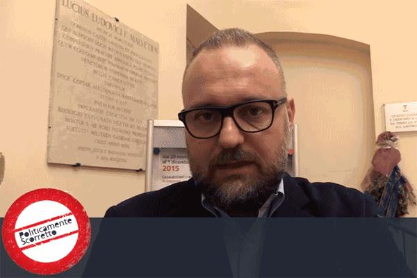 L'assessore Mezzetti intervistato da Politicamente scorretto