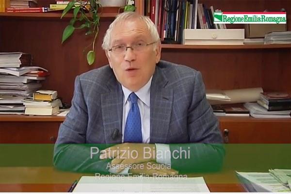 L'assessore Patrizio Bianchi