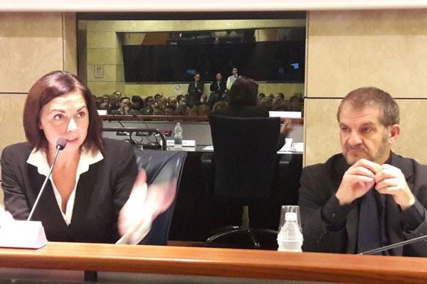 Paola Gazzolo a convegno Italiasicura, ottobre 2016