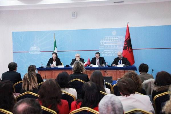 Patrizio Bianchi in Albania - 2