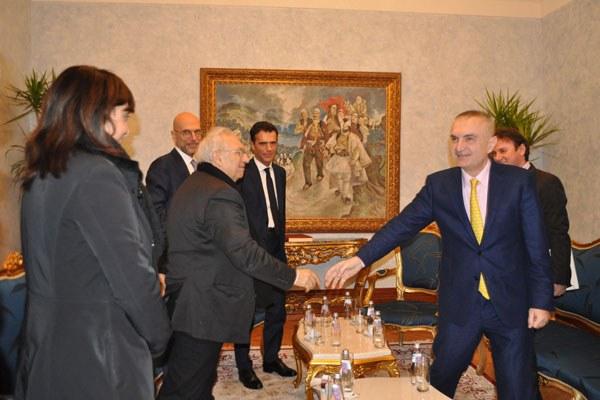 Patrizio Bianchi in Albania