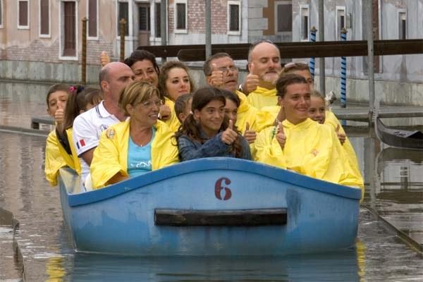 Turisti, turismo, Italia in miniatura, riviera