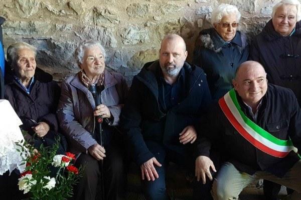 Bonaccini alla commemorazione eccidio Villa Minozzo (Re) con parenti vittime