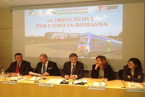 Bonaccini, Del Rio e Donini su nuovi treni (2)