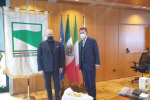 Incontro Bonaccini e ambasciatore Messico