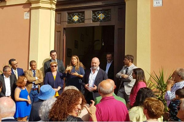 Bonaccini inaugura a Modena sede Ente nazionale per l'assistenza e la protezione dei sordi
