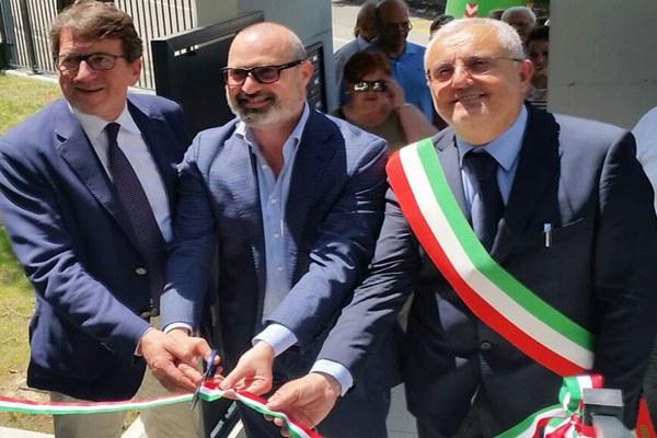 Bonaccini inaugura alloggi Erp a Savignano sul Panaro