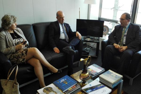 Il presidente Bonaccini a Bruxelles (2)