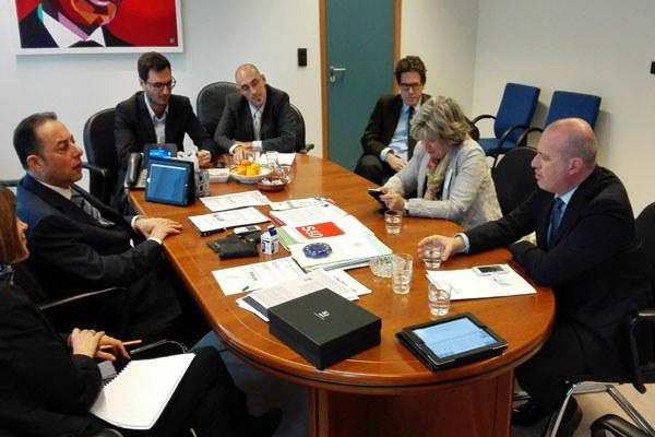 Il presidente Bonaccini a Bruxelles (4)