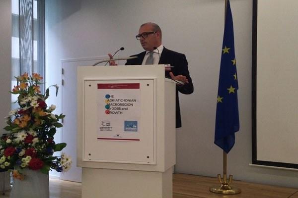 Il presidente Bonaccini a Bruxelles per Open Days 2015 (2)