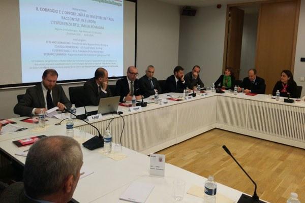 Il presidente Bonaccini a Bruxelles su attrattività e investimenti - 3