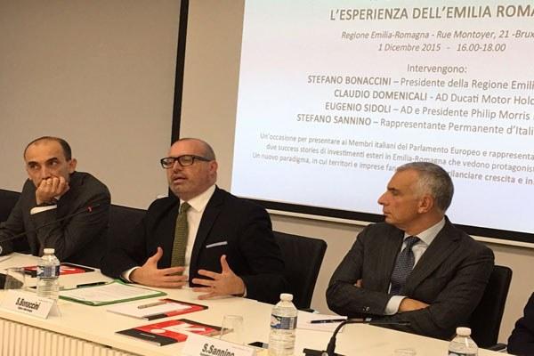 Il presidente Bonaccini a Bruxelles su attrattività e investimenti - 4