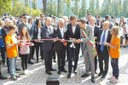 Il presidente Bonaccini inaugura piscine Carpi - 2