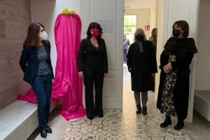 Inaugurazione sala Renata Bergonzoni, Casa delle Donne Modena - 8 marzo 2021
