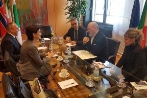 Bonaccini incontra ambasciatrice di Norvegia_bis
