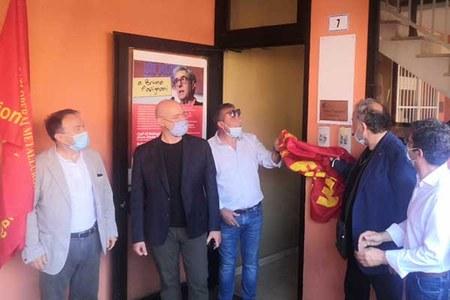 Inaugurazione sede Cgil Papignani