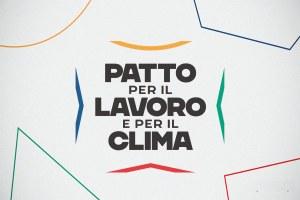Patto per il lavoro e il clima - Logo