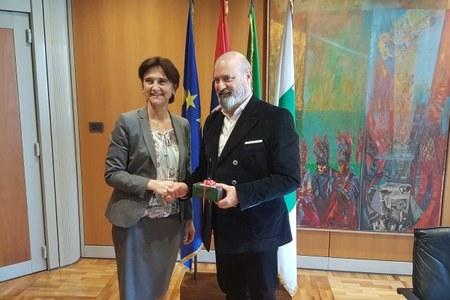Bonaccini incontra ambasciatrice  di Norvegia