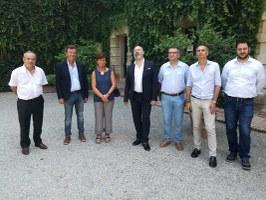 Bonaccini in visita ai Castelli del Ducato