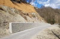 Lavori strada Rocca San Casciano