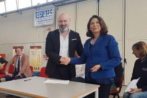10 anni Centro unificato Marzaglia (Mo) - Firma prefettura