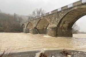 Esondazione Panaro Ponte Samone