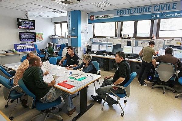 protezione civile, centro operativo