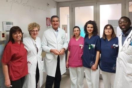 Intervento su neonato cardiopatico. Ospedale di Piacenza