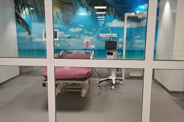 Hub terapia intensiva, terapia intensiva, ospedale, Rimini, reparto, letto