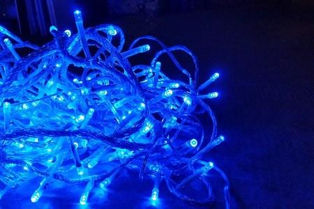 Luci blu- simbolo autismo