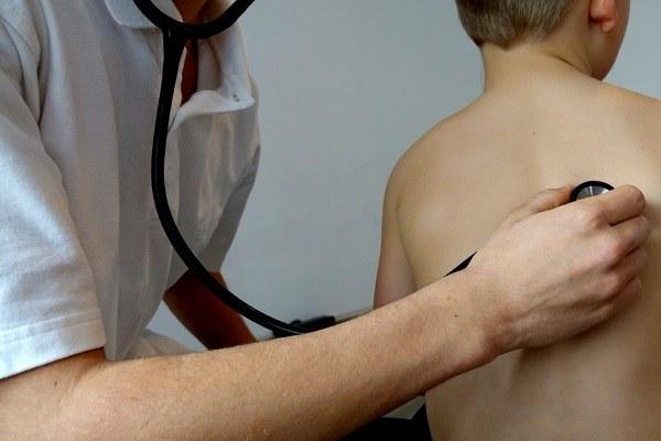 medico, bambino, stetoscopio