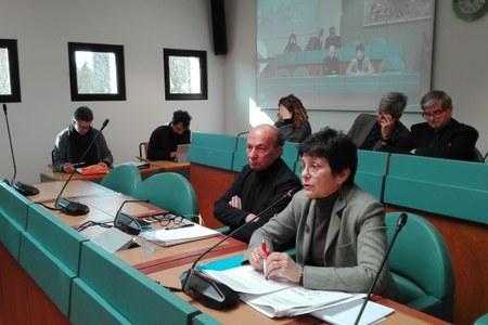 Assessore Venturi e Maria Luisa Moro in Commissione su antibiotico-resistenza 5 febbraio 2019