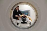 Neuroradiologia - paziente, visione frontale