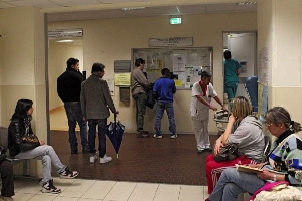 Ospedale, accettazione