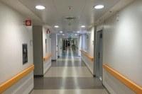 Policlinico di Modena, corridoio ospedale