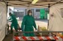 coronavirus tenda biocontenimento protezione civile
