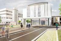 Nuovo Centro oncologico Parma rendering 1