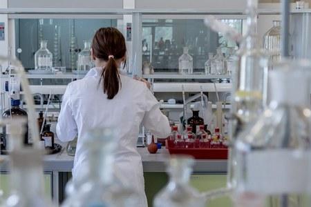 Sangue, provetta, analisi, laboratorio
