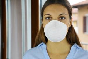 Coronavirus infermiera mascherina