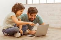Computer, famiglia, connettività