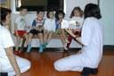 Scuola materna, asilo, maestra, bambini