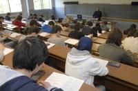 Studenti, università, aula, docente