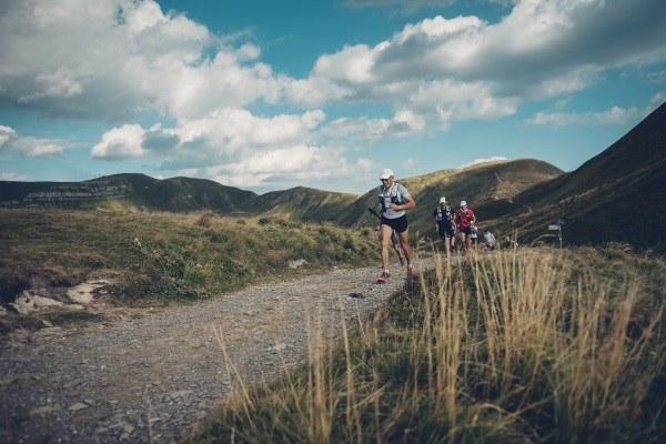 AVP 501 Endurance trail Alta via dei Parchi, gara, atleti, corsa