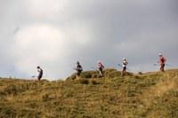 AVP 501 Endurance trail Alta Via dei Parchi, lago, Scaffaiolo, atleti